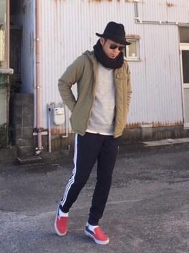 HIROさんの(adidas|アディダス)を使ったコーディネート