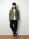 ryuto irieさんの「【UNITED ATHLE】ヘビーウェイトビックシルエットポケTシャツ 500801(United Athle|ユナイテッドアスレ)」を使ったコーディネート