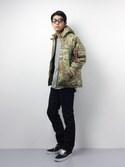 ryuto irieさんの「COLD PARKA(ALPHA|アルファ)」を使ったコーディネート