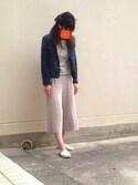 yukkoさんの「花柄リボンヘアゴム【PLAIN CLOTHING】(PLAIN CLOTHING|プレーンクロージング)」を使ったコーディネート