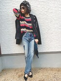 「FOREVER 21 Classic Moto Jacket(Forever 21)」 using this masa-mi looks