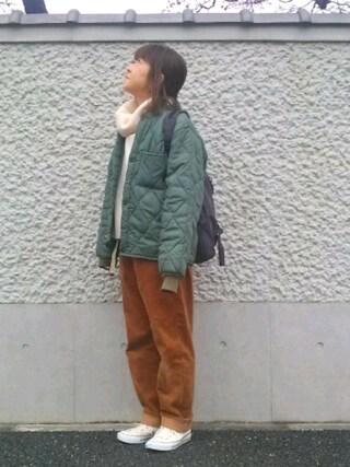 Atsu さんの「JOY RIDER BACKPACK(SEE BY CHLOE|シーバイクロエ)」を使ったコーディネート