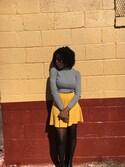 「FOREVER 21 Classic Skater Skirt(Forever 21)」 using this Priscilla looks