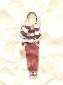 chanさんの(w closet|スペルガ)を使ったコーディネート