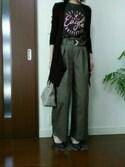 YUAさんの「2連太ブレスレット【PLAIN CLOTHING】(PLAIN CLOTHING|プレーンクロージング)」を使ったコーディネート