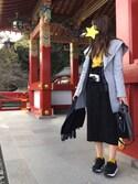 えりんぎさんの「WOMEN ウルトラライトダウンジャケット(ユニクロ|ユニクロ)」を使ったコーディネート