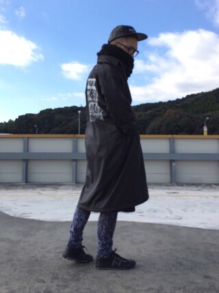 KEIさんの「doublet 『SPANGLE EMBROIDERY』ロングコーチジャケット(doublet|ダブレット)」を使ったコーディネート