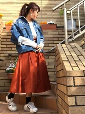 佐々木 麻耶さんの(adidas アディダス)を使ったコーディネート
