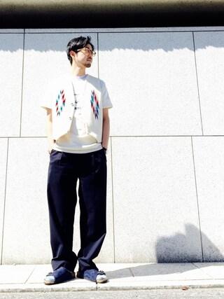 BEAUTY&YOUTH UNITED ARROWS|Shirou Takemotoさんの(BEAUTY&YOUTH UNITED ARROWS|ビューティアンドユースユナイテッドアローズ)を使ったコーディネート