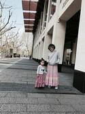 miyukisongさんの「ボエム クロスボディバッグ+2ポーチセット(FURLA フルラ)」を使ったコーディネート