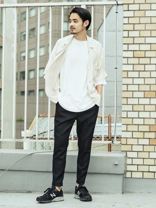 ROOPTOKYORooptokyoさんのTシャツ/カットソー「WEB限定:TC サーマル半袖カットソー(made in standard |メイドインスタンダード)」を使ったコーディネート