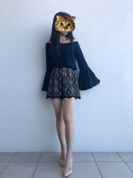 盛夏 is wearing Keepsake