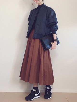 「MA-1/BF 728655(apart by lowrys)」 using this MAYUKO looks