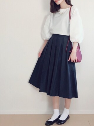 「エクセルテック タックスカート#(journal standard L'essage)」 using this MAYUKO looks