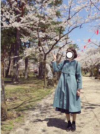 MAYUKOさんの「テレコハイネックメロー 743066(LOWRYS FARM ローリーズ ファーム)」を使ったコーディネート