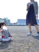 riさんの「【KOMONO】WINSTON MIRROR(KOMONO.|コモノ)」を使ったコーディネート