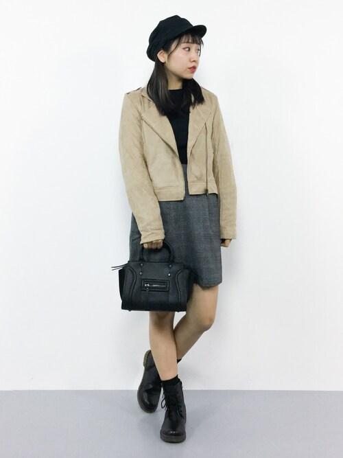 E R Uさんの「2wayショルダーバッグ【PLAIN CLOTHING】(PLAIN CLOTHING)」を使ったコーディネート