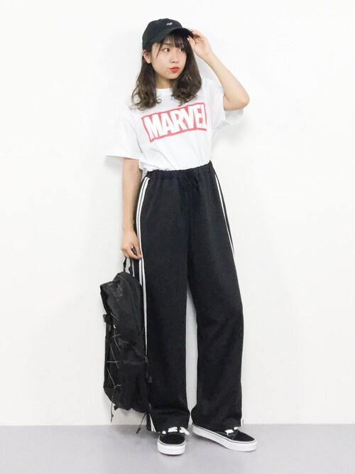 Shop Staff エル Marvel T Shirts Looks Wear
