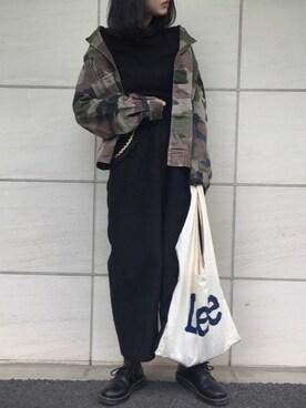 offwhite 迷彩ジャケット