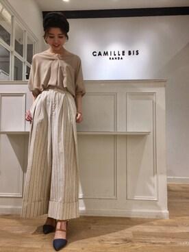 CAMILLE BIS RANDA ルミネ大宮店|Chihiro N.さんの(RANDA|ランダ)を使ったコーディネート