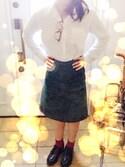 Akari kさんの「靴下屋/ 薄手の三つ折りショートソックス(靴下屋|クツシタヤ)」を使ったコーディネート