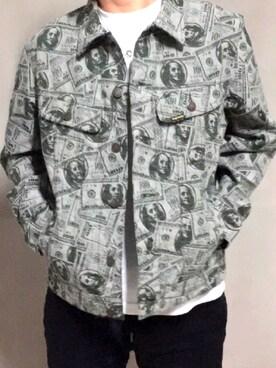 100 dollar bill trucker jacket wear tyonsupreme voltagebd Choice Image