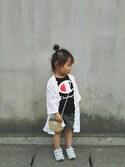 Rei*さんの「チノスカート(RUGGEDWORKS)」を使ったコーディネート