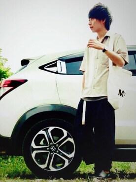 Toruさんの(STUDIOUS|ステュディオス)を使ったコーディネート