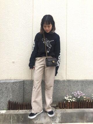 「【バンス】Old Skool オールドスクール(VANS)」 using this fumi looks