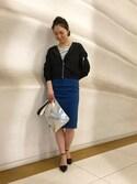 BLISS POINT コレド日本橋店 Womens Staff2さんの「SS BASIC CLUTCH/739679(BLISS POINT|ブリスポイント)」を使ったコーディネート