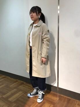 BEAVER渋谷店|もぎもぎ。さんの「CONVERSE/コンバース オールスターハイ ALL STAR HI チャックテイラー(CONVERSE)」を使ったコーディネート
