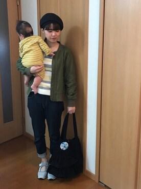 coenららぽーと磐田店|coen なかみねさんの(coen|コーエン)を使ったコーディネート
