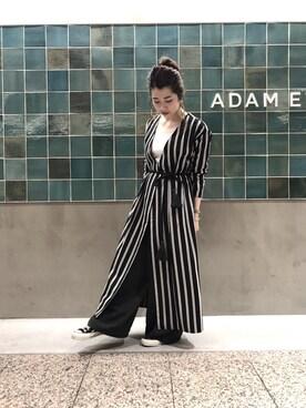 ADAM ET ROPE' 天王寺MIO|SAKIさんの(ADAM ET ROPE'|アダム エ ロペ)を使ったコーディネート