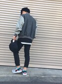 ki-chanさんの「NIKE AIR HUARACHE【SP】(NIKE|ナイキ)」を使ったコーディネート