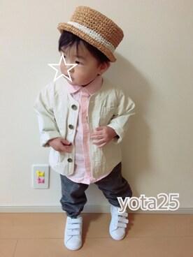 *YOTARO*さんの(GLOBAL WORK|グローバルワーク)を使ったコーディネート