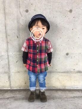 *YOTARO*さんの(いちご狩り🍓)を使ったコーディネート