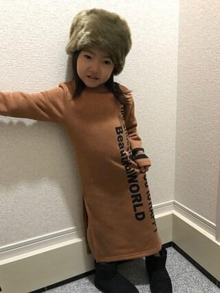 ゆあときどきのあさんの(韓国子供服)を使ったコーディネート