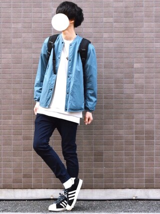 「<Steven Alan> STN O/DYE RIB BLOUSON/アウター(Steven Alan)」 using this とっしー looks