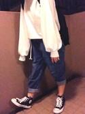 Yuka.さんの「CONVERSE コンバース ALL STAR HI オールスター ハイ(CONVERSE|コンバース)」を使ったコーディネート
