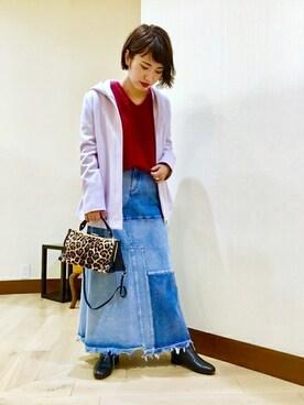 SHIPS 京都ポルタWOMEN'S店 山田さんのコーディネート