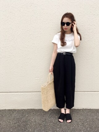 「Totes Cool ! Tシャツ(MAISON DE REEFUR)」 using this N☻Rii looks