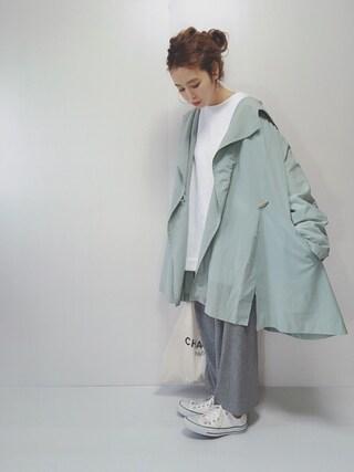 「WEGO/カラー起毛ビッグプルオーバー(WEGO)」 using this N☻Rii looks