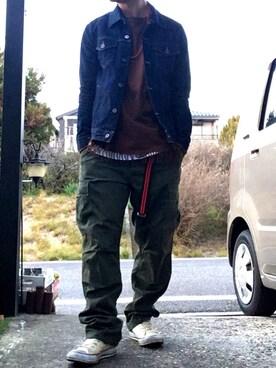 yoshito【相互フォロー】さんの(RAGEBLUE|レイジブルー)を使ったコーディネート