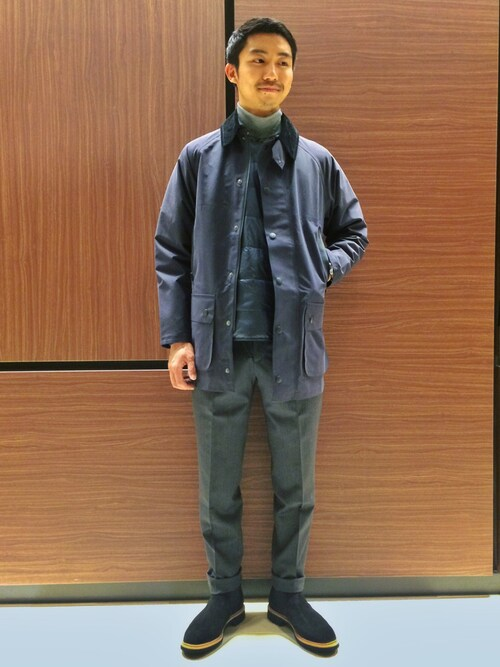 ITOさんの「【Barbour】3layer Beaufort(Barbour)」を使ったコーディネート