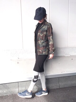 「NIKE AIR MAX 1 ESSENTIAL【SP】(NIKE)」 using this kanon looks