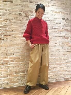 JOURNAL STANDARD 金沢店|matsuuchiさんの(JOURNAL STANDARD|ジャーナルスタンダード)を使ったコーディネート