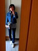 Tanianさんの「MIXフェイクファークラッチバッグ【PLAIN CLOTHING】(PLAIN CLOTHING|プレーンクロージング)」を使ったコーディネート