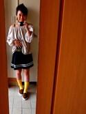 Tanianさんの「プレートスターピアス【PLAIN CLOTHING】(PLAIN CLOTHING|プレーンクロージング)」を使ったコーディネート