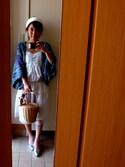 「バンダナスカーフバスケット(FREAK'S STORE)」 using this Tanian looks