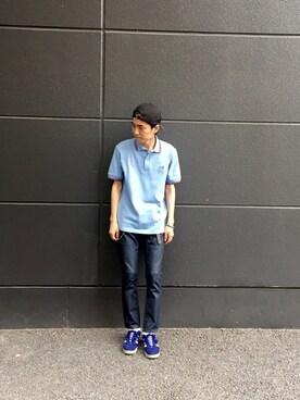 kazuma sakataさんの「adidas Originals / GAZELLE(F16)(adidas)」を使ったコーディネート